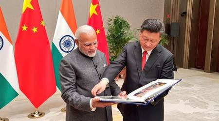 Prime Minister Narendra Modi with Chinese President Xi Jinping. (File)