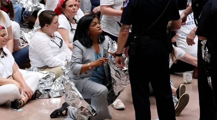 Over 500 ICE Protesters Arrested Inside US CAPITOL — CAPITOL CHAOS