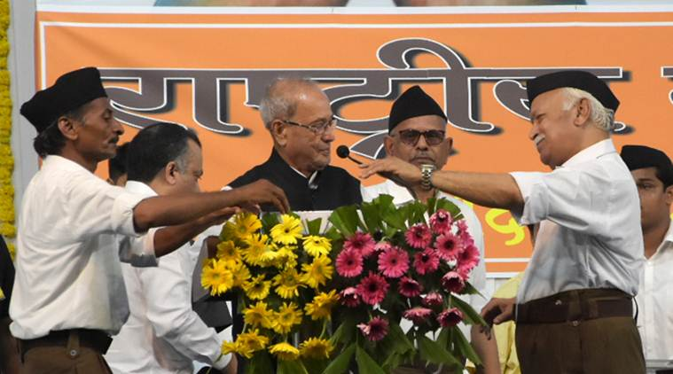Soul of India lives in pluralism, tolerance: Pranab Mukherjee at RSS home