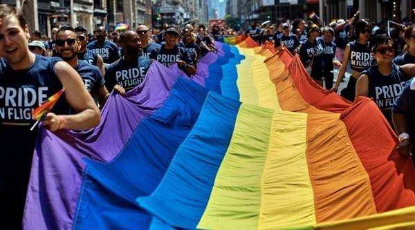 pride month: lgbtq march for gay rights, dignity