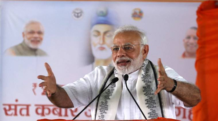 PM Narendra Modi targets SP-BSP: Worried about own bungalows, not poor