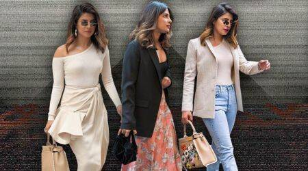 Priyanka Chopra is a style goddess in sultry skirts, chic handbags and sharp blazers