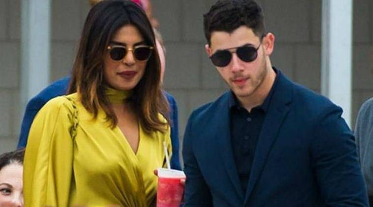 Priyanka Chopra and boyfriend Nick Jonas in india
