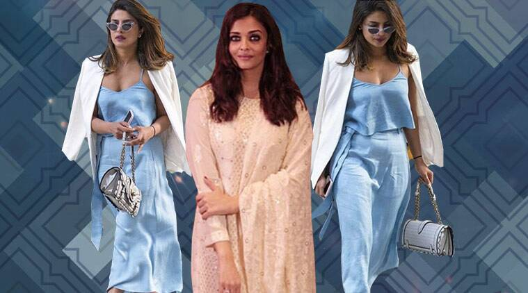 bollywood fashion watch, Priyanka Chopra, Aishwarya Rai Bachchan, celeb fashion, bollywood fashion, indian express, indian express news