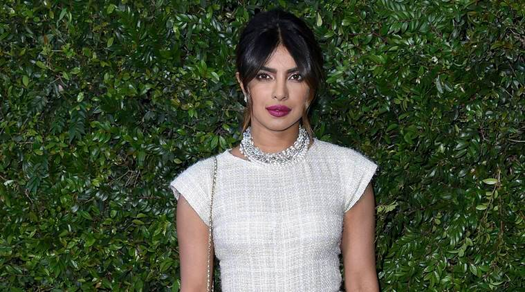 priyanka chopra, chanel benefit dinner, priyanka chopra chanel jumpsuit, priyanka chopra white jumpsuit, priyanka style file, celeb fashion, bollywood fashion, entertainment news, fashion news