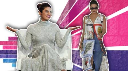 Florals to metallics, Priyanka Chopra taps into top fashion trends at the Forbes Women Summit