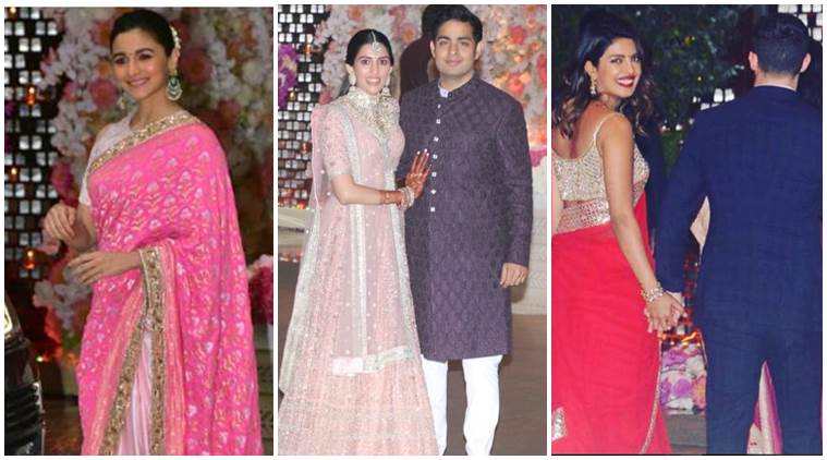 Akash Ambani and Shloka Mehta engagement: Priyanka, Nick Jonas
