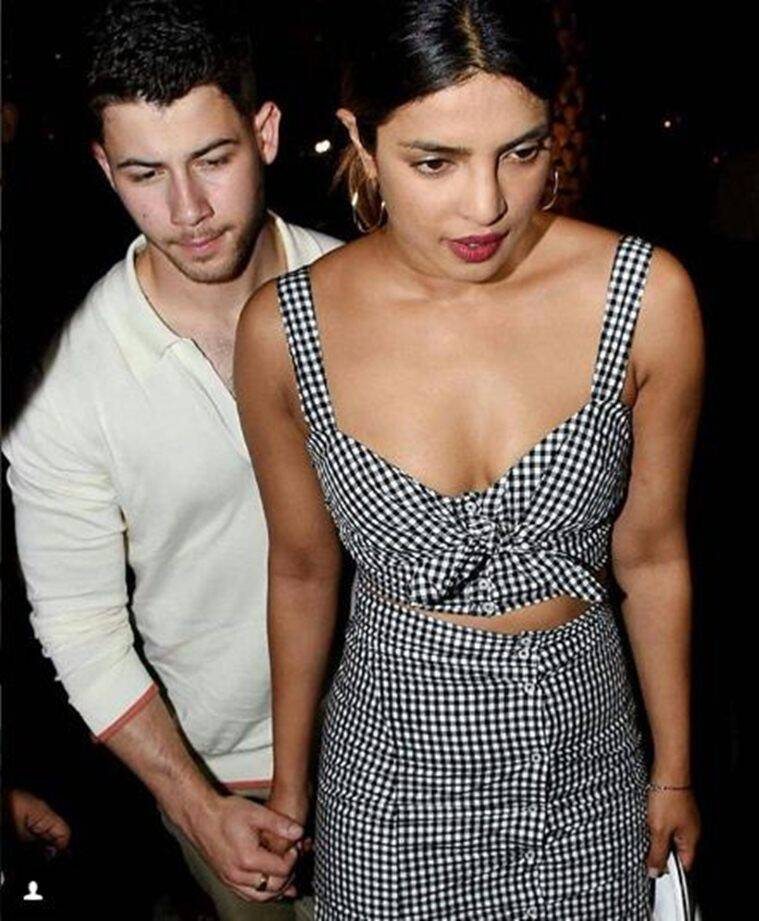 priyanka chopra spotted with Nick Jonas in mumbai