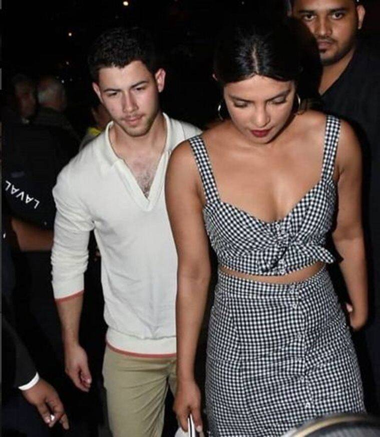priyanka chopra photos with nick jonas in mumbai