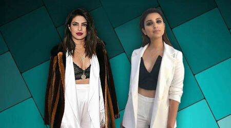 Did Priyanka Chopra inspire Parineeti Chopra's white pantsuit look?
