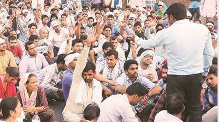 Chandigarh: Computer teachers' protest enters Day 9