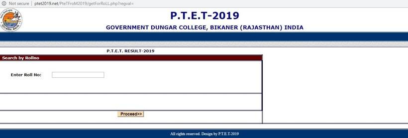 Rajasthan PTET results 2019 declared: Merit list to release soon