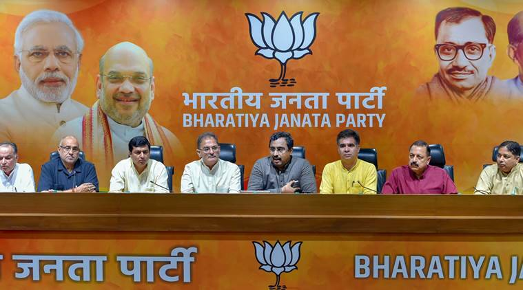 BJP PDP alliance, BJP alliance, bharatiya janata party, mehbooba mufti, ram madhav, amit shah, narendra modi, BJP news