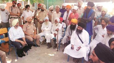Moga: Torn Gutka Sahib pages found outside village gurdwara