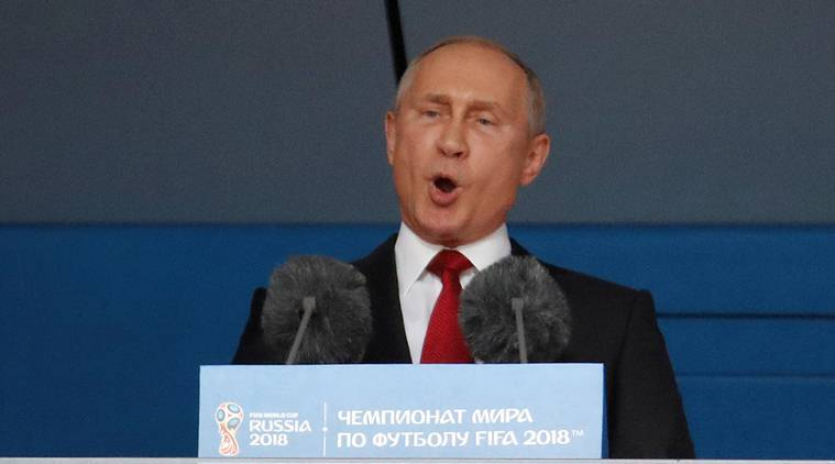 Russia President Vladimir Putin in Moscow