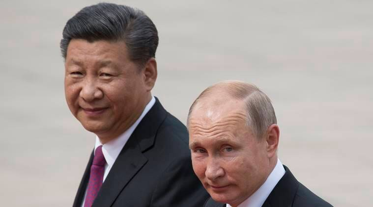 Vladimir Putin, Xi Jinping, China, Russia, Hwawei, United States, Washington, Indian Express