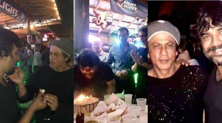 R Madhavan celebrates birthday on the sets of Shah Rukh Khan's Zero