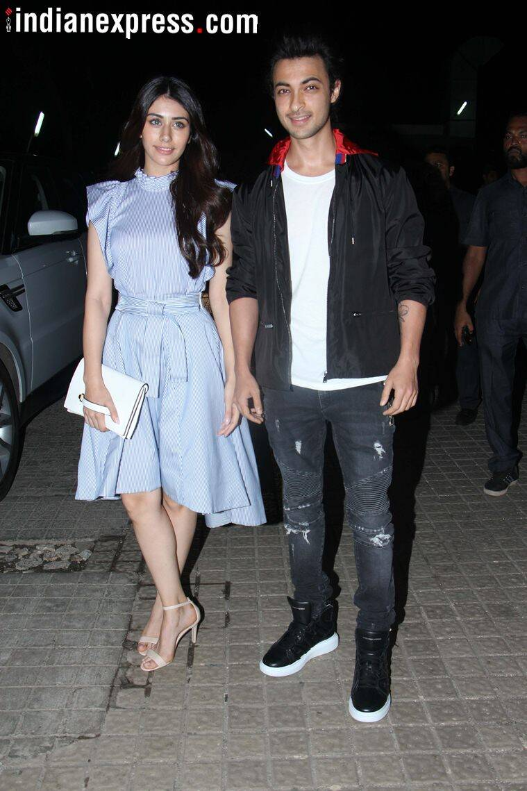 aayush sharma, warina hussain photos