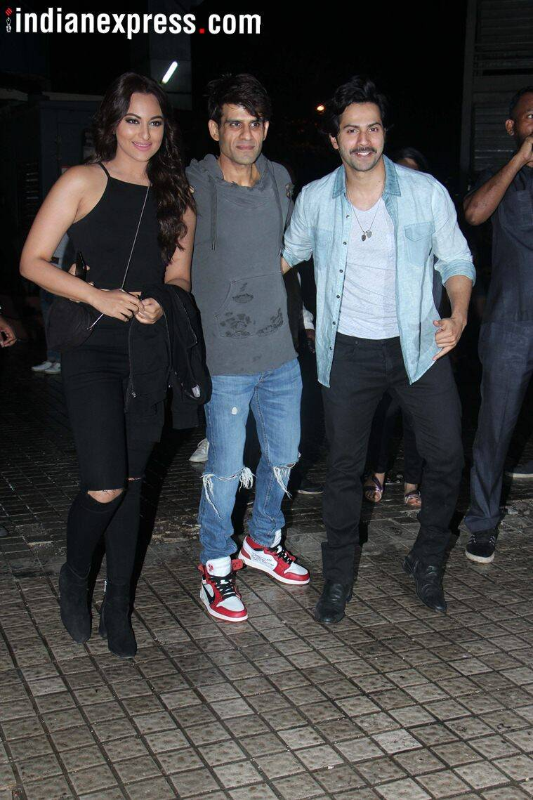 varun dhawan, sonakshi sinha watch race 3