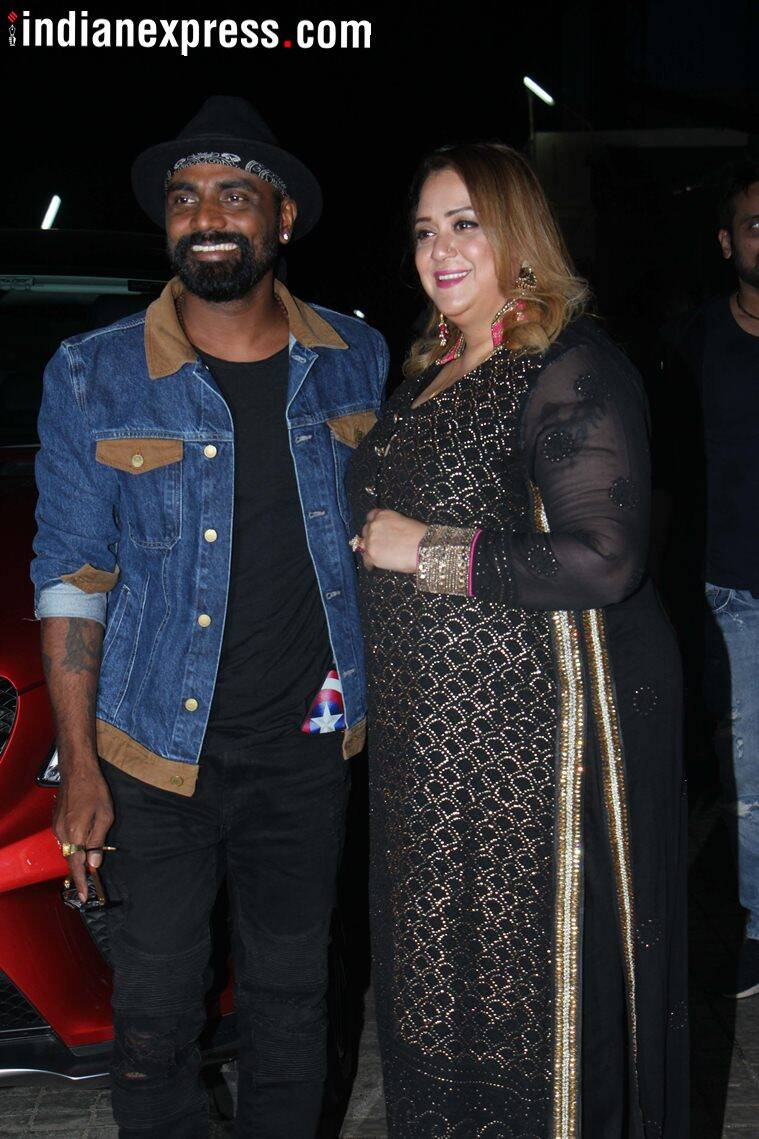 Remo D'Souza at race 3 screening