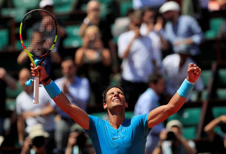 Tearful Del Potro beats Cilic, faces Nadal in French Open semis