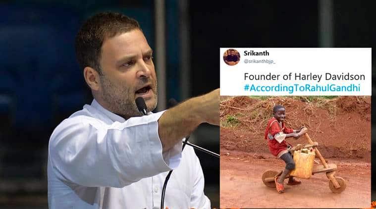 Rahul Gandhi, rahul gandhi coco cola remark, rahul gandhi shikanji, rahul gandhi mcdonalds dhaba video, rahul ganghi memes, according to rahul gandhi, viral news, indian news, indian express