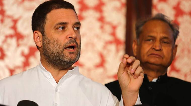 Rahul Gandhi says Congress doesn't discriminate on religion or caste, BJP hits back