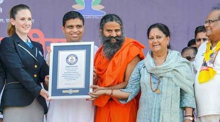 Rajasthan records biggest yoga gathering, Guinness say over lakh participated