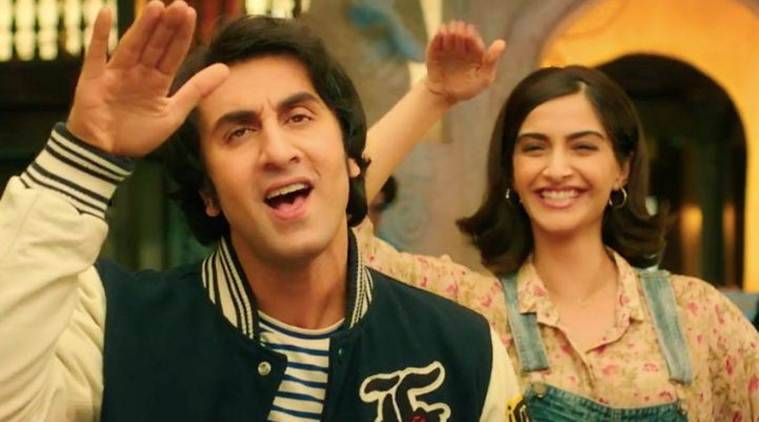 sanju song badhiya starring sonam kapoor and ranbir kapoor
