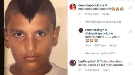 Ranveer Singh shares throwback photo; Deepika, Ayushmann, Arjun Kapoor's response is on point