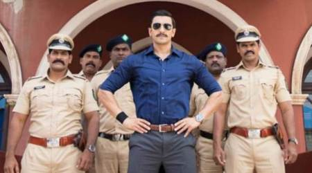 Ranveer Singh shares a picture from the sets of Simmba, says he's proud to be Rohit Shetty's hero