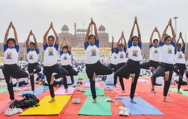 Yoga Day celebrations 2018: From one stretch to another, across the country
