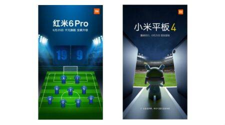 Xiaomi Redmi 6 Pro, Mi Tab 4 launch confirmed for June 25 in China