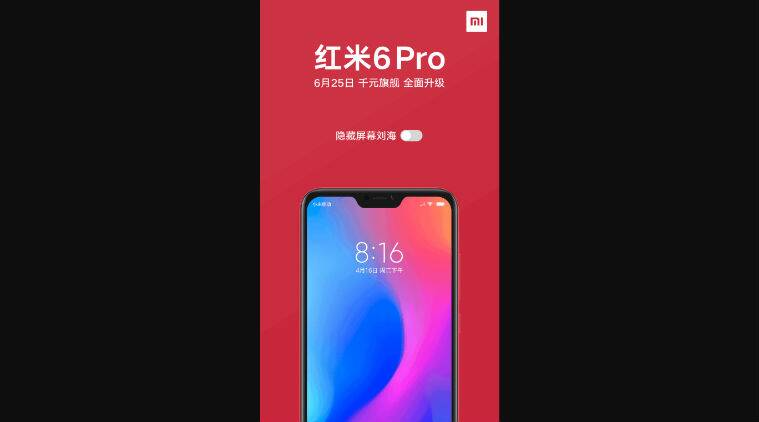 Xiaomi Redmi 6 Pro Notch Can Be Disabled Confirms Company Unboxing