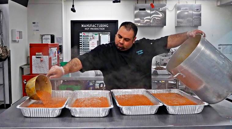 syrian refugee, ramazan, ramadan, refugee chef, syrian refugees in america, united states, chefs in ramadan, world news, indian express