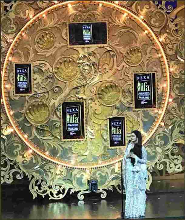 rekha in iifa award ceremony