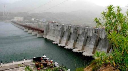 bhakra nangal dam, bhakra dam, water, irrigation, reservoirs, rain, power, power generation, pong dam, hoshiarpur, thermal plants, paddy, paddy irrigation, punjab news, indian express news