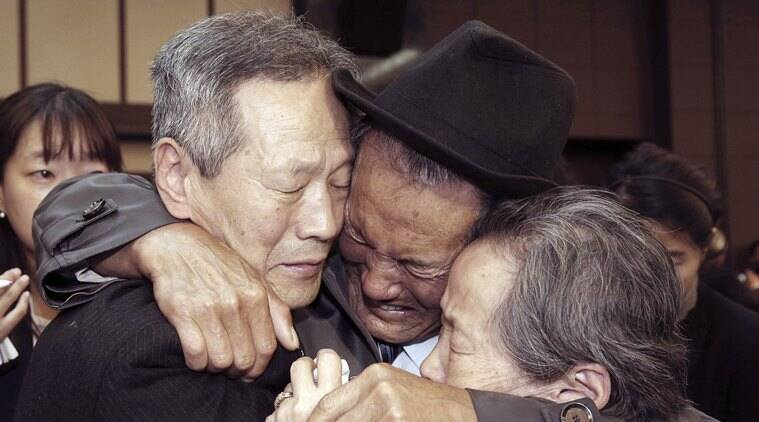 In Photos: Reunions between Korean families divided by war