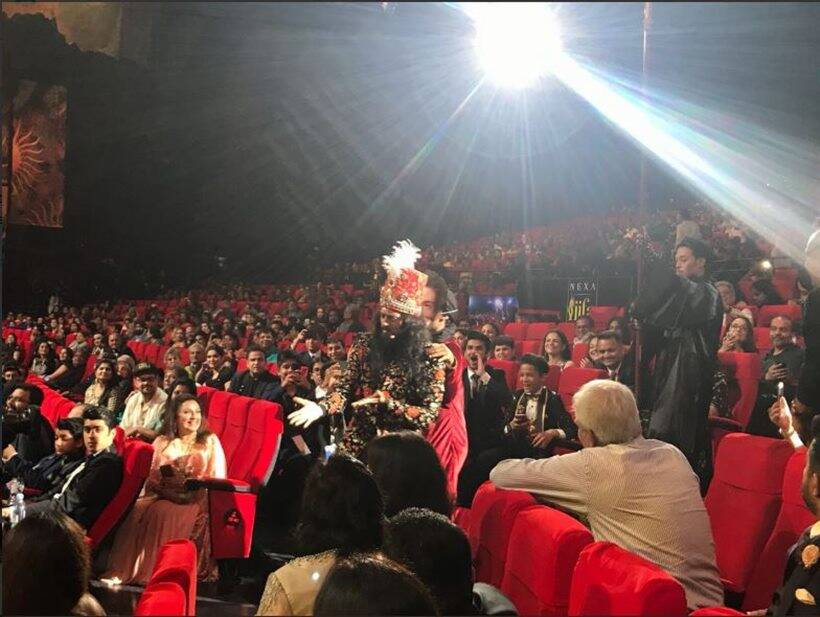 riteish deshmukh at iifa awards 2018