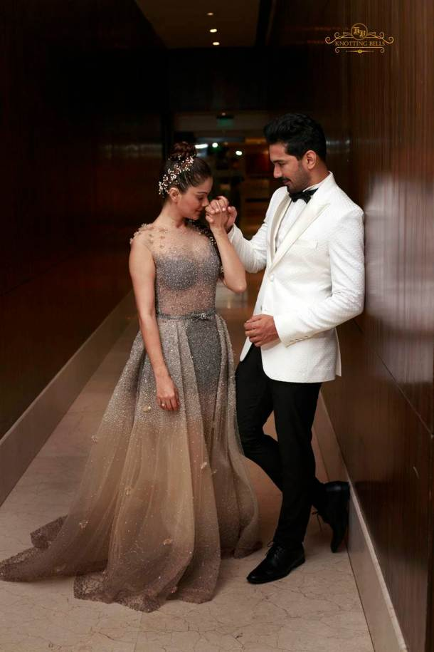 Photos Inside Rubina Dilaiks Wedding Reception The Indian Express