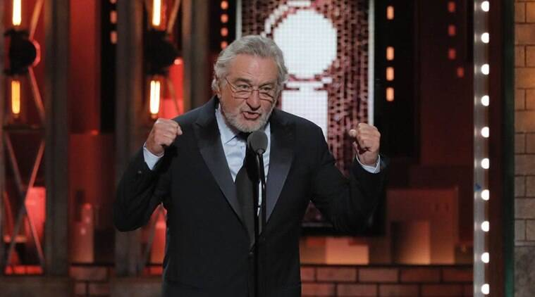 """I'm gonna say one thing. F*** Trump,"" Robert De Niro said without any preamble"