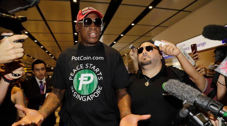 Dennis Rodman, who hangs with Trump and Kim, says Korea peace deal 'could still work'