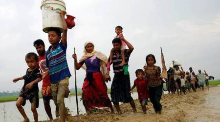 Supreme Court, Bangladesh nationals, Illegal Bangladesh nationals,Rohingya Muslims, Rohingya Muslims deportation, Deportation, Supreme Court on Rohingya muslims, Supreme Court and Rohingya muslim deportation, Indian Express news