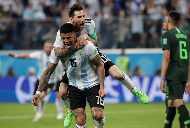 FIFA World Cup 2018 highlights: Argentina beat Nigeria 2-1, through ...