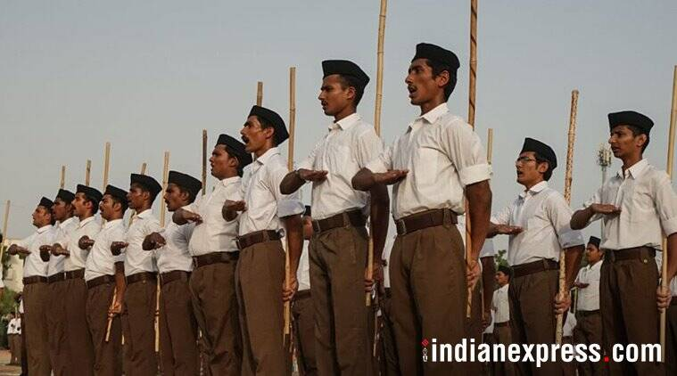 Madhya Pradesh: Congress vows to revoke order allowing govt employees to attend RSS shakhas