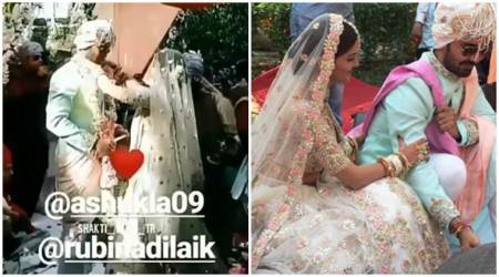 Rubina Dilaik ties the knot with Abhinav Shukla, see photos from their dreamy wedding