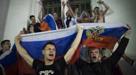 FIFA World Cup 2018: Russia parties after Egypt win puts them near World Cup knockouts