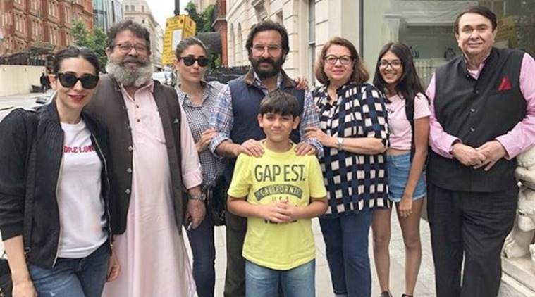 saif kareena karisma in london