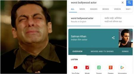 Google 'shows' Salman Khan as 'worst Bollywood actor'; but here is why there's still hope for bhai's fans