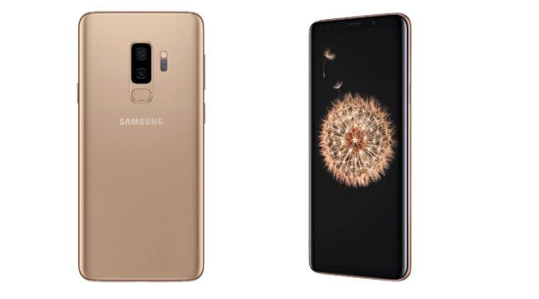 Samsung Galaxy S9 Plus now available in Sunrise Gold: Price in India